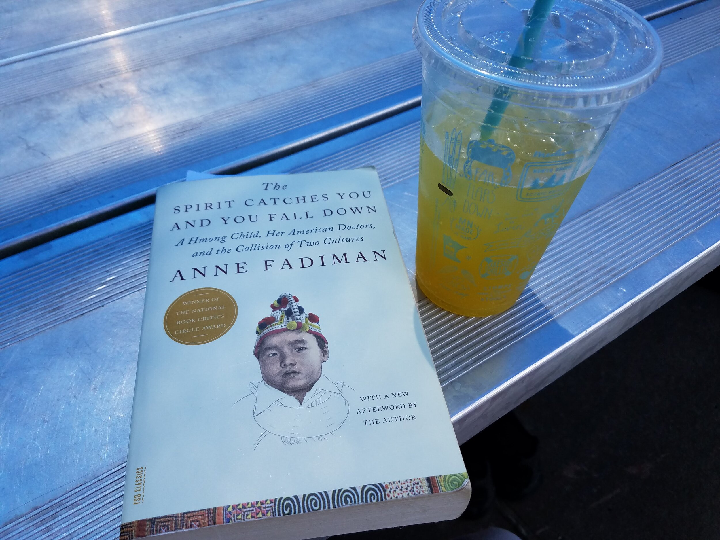 The Spirit Catches You and You Fall Down by Anne Fadiman. Not light summer reading but a good book just the same.