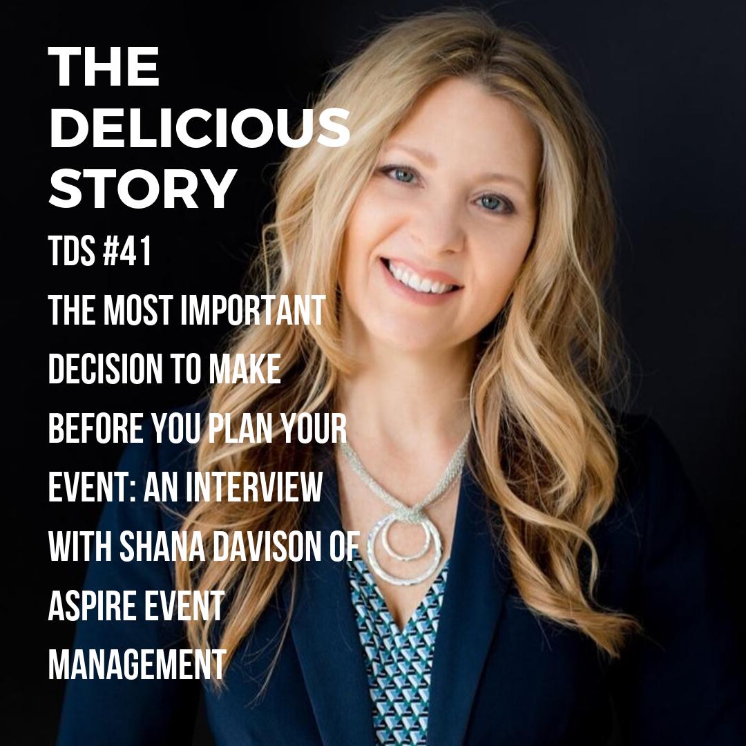 Shana Davison of Aspire Event Management