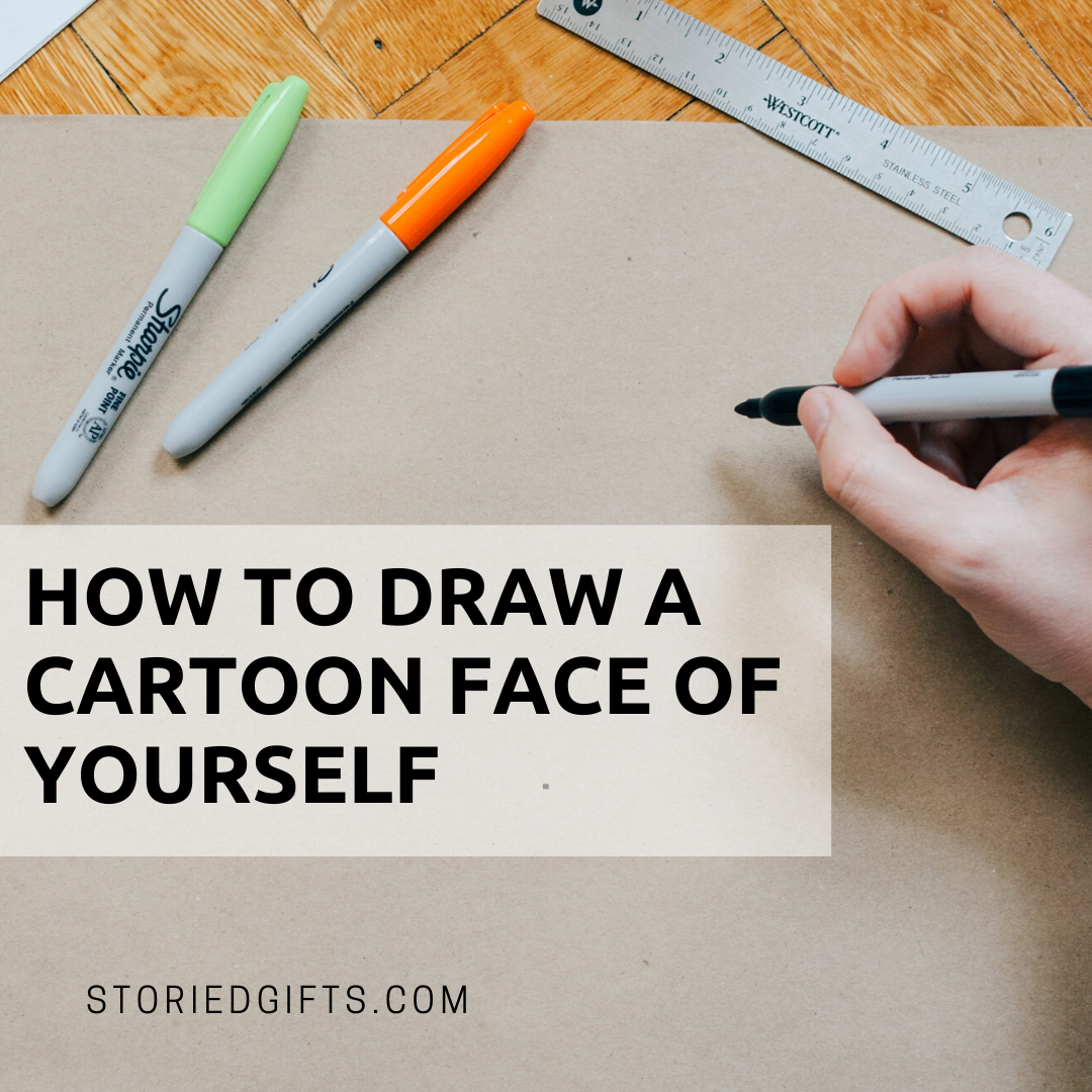 How To Draw A Cartoon Face Of Yourself