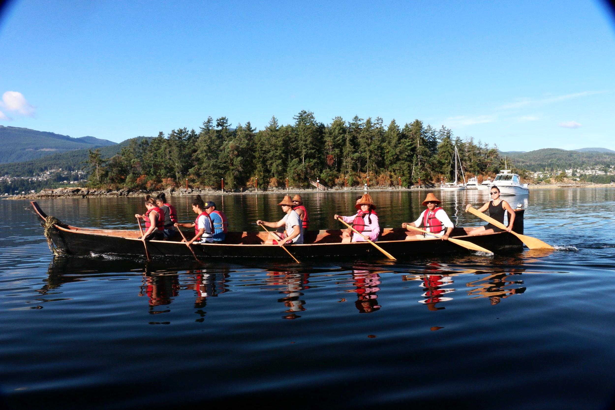 Squaxin Island Canoe Family