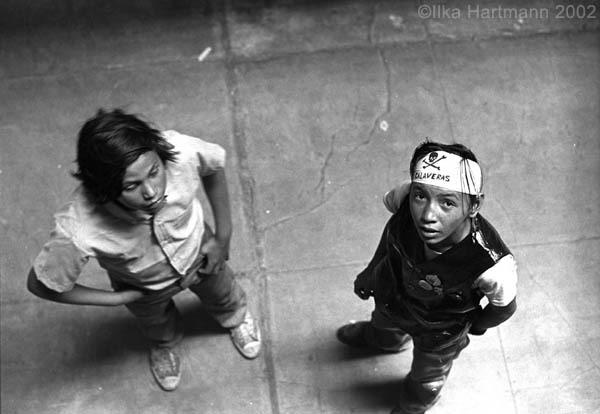 Boys in Alcatraz Cell Block