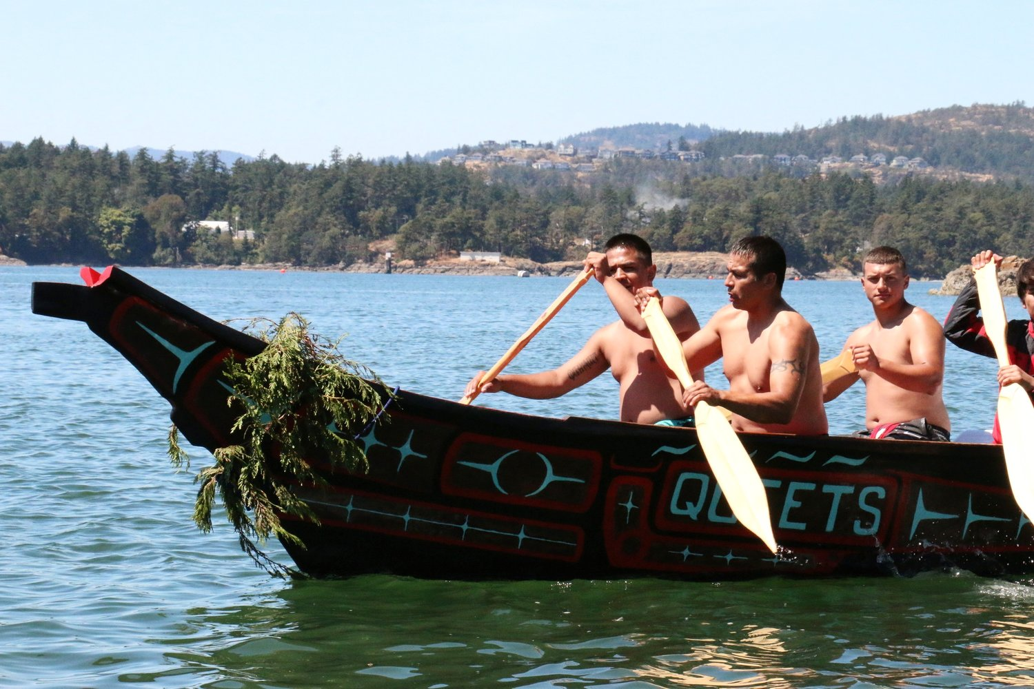 Queets Canoe