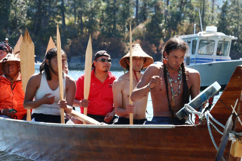 Quinault Canoe