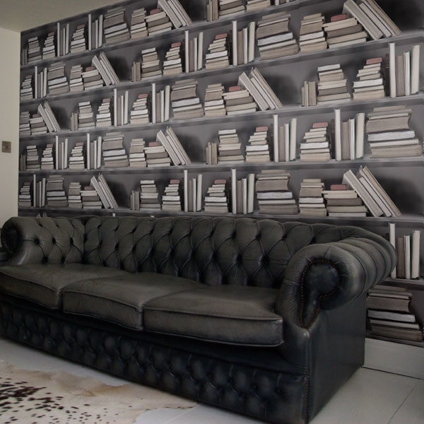 Bookshelf-Wallpaper