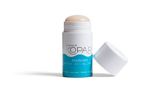 My favorite natural deodorant:   Kopari Aluminum-Free Deodorant   | Non-Toxic, Paraben Free, Gluten Free & Cruelty Free Men's and Women's Deodorant | Made with Organic Coconut Oil