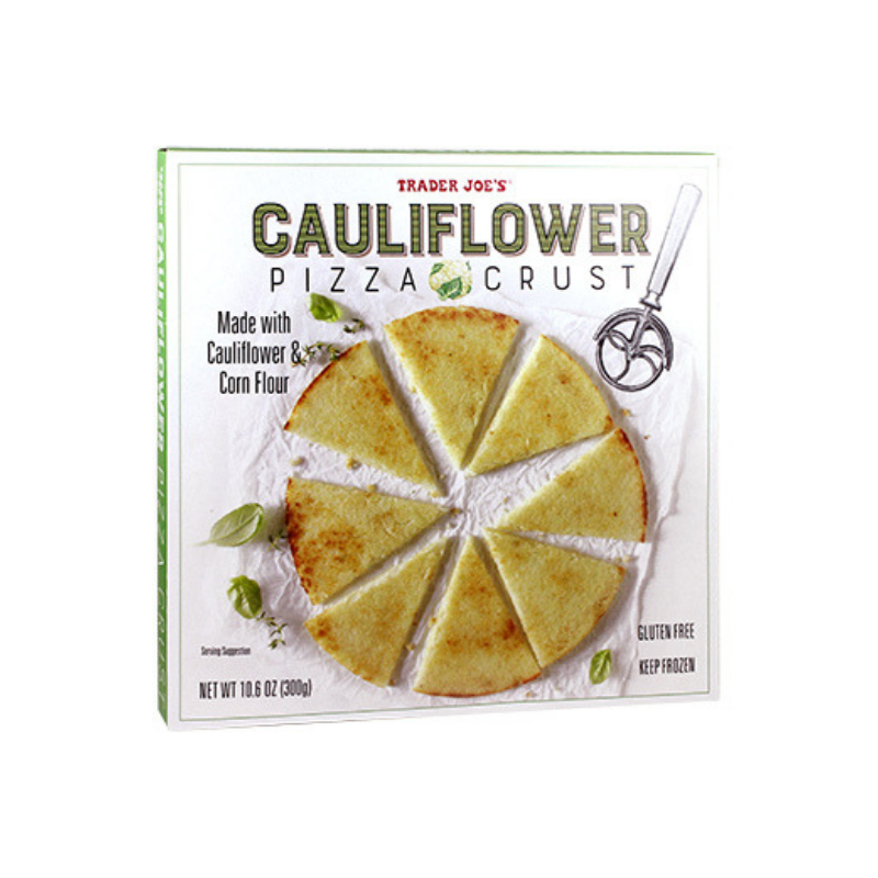 Trader Joe's Cauliflower Pizza Crust