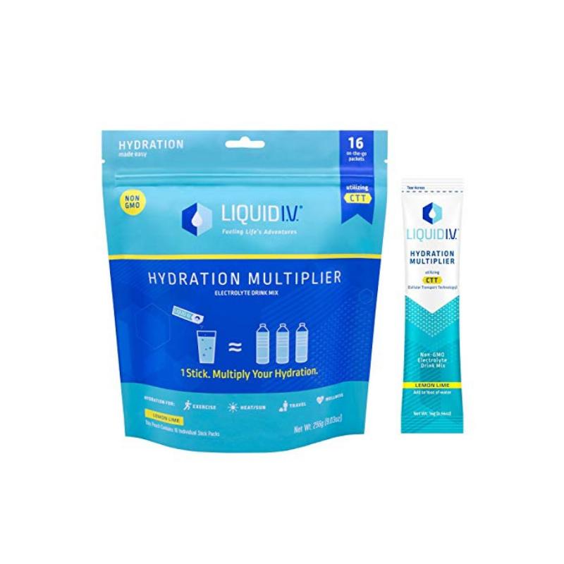 Liquid I.V. Hydration Multiplier Supplement Drink Mix (Lemon Lime)