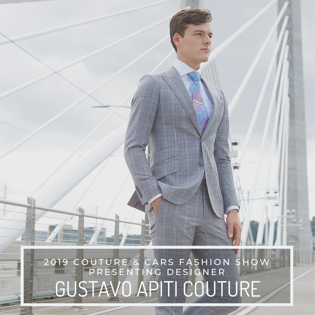 GUSTAVO APITI COUTURE - Gustavo Apiti Couture is a talented tailor and designer who creates a variety of custom craft pieces ranging from evening gowns to tailored suits. Born and raised in the Democratic Republic of Congo, Gustave discovered his love for the fashion industry at the young age of six, where he styled and created clothes for his sister's dolls. Gustave graduated with a bachelor's degree in Fashion Apparel & Design from the Tshwane University of Technology. After graduating, he worked with some of the top fashion houses from South Africa including: JJ Schoeman Boutique & Strangelove. After establishing himself in Johannesburg, he traveled to the states and began working for Luly Yang.Website:https://gustavoapiti.com/Facebook:@gustavo.apiti.coutureInstagram:@gustavo.apiti.couture