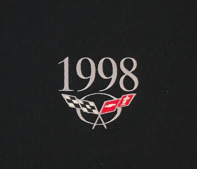 C5 /& Z06 CORVETTE ENGINE UNDERHOOD INSERT MONOGRAMMED WIYH YEAR 1997 thru 2004
