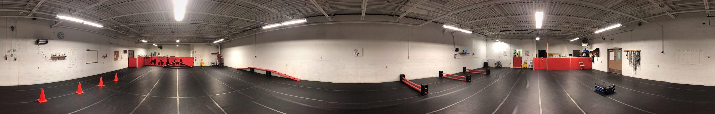 360-degree facility view
