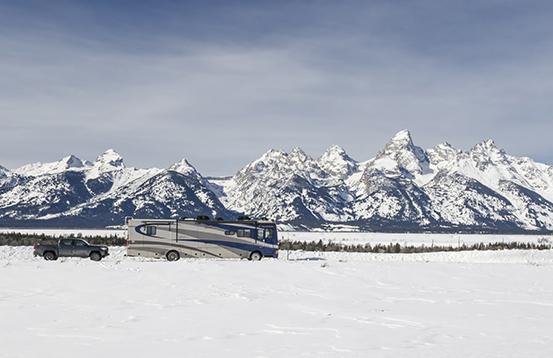 New RV at Grand Teton