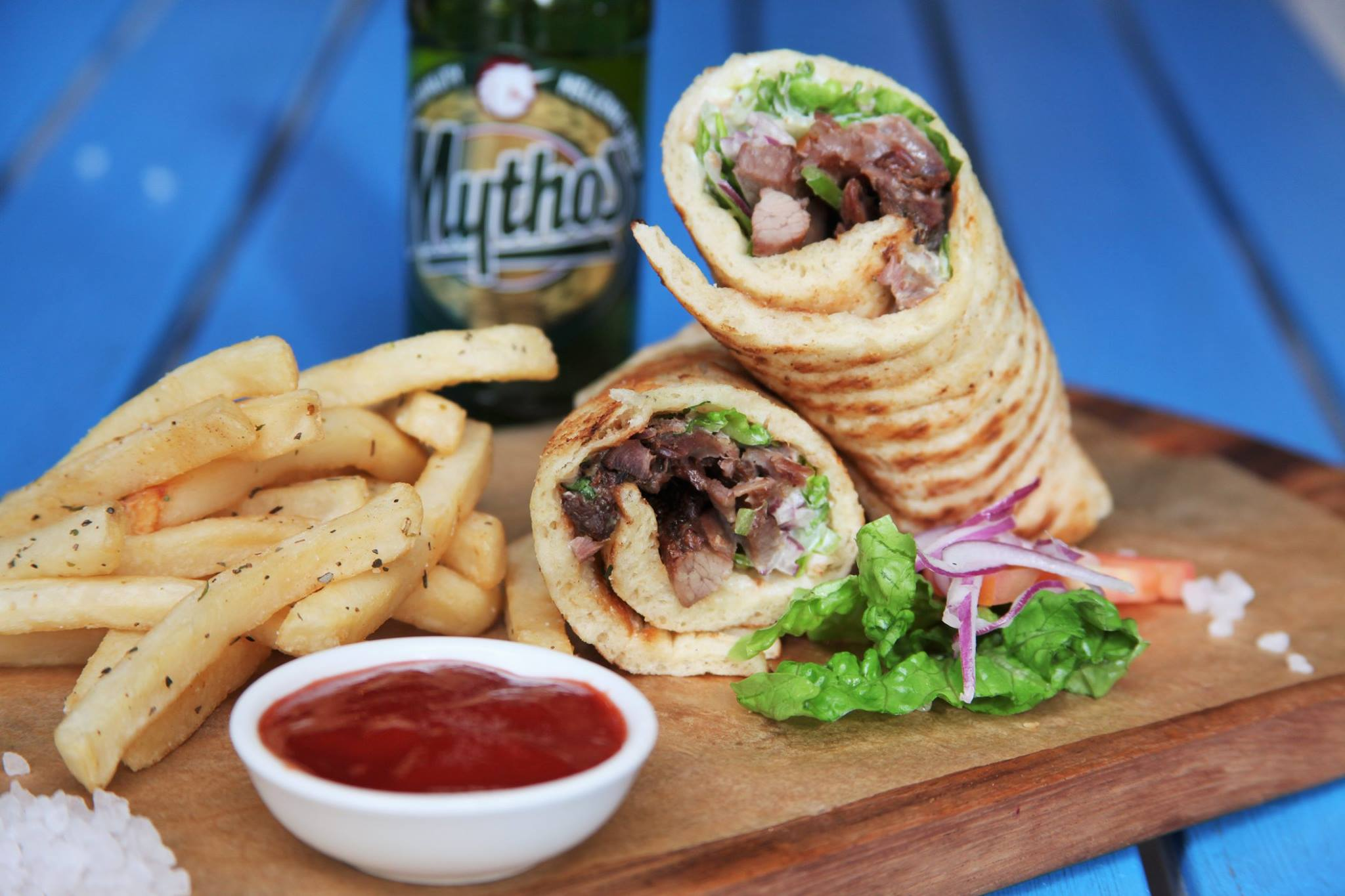 - Little Santorini a local favourite operated by Santorini Restaurant will be doing their popular Lamb Souvas. PLUS they'll be doing a few Vegetarian options!