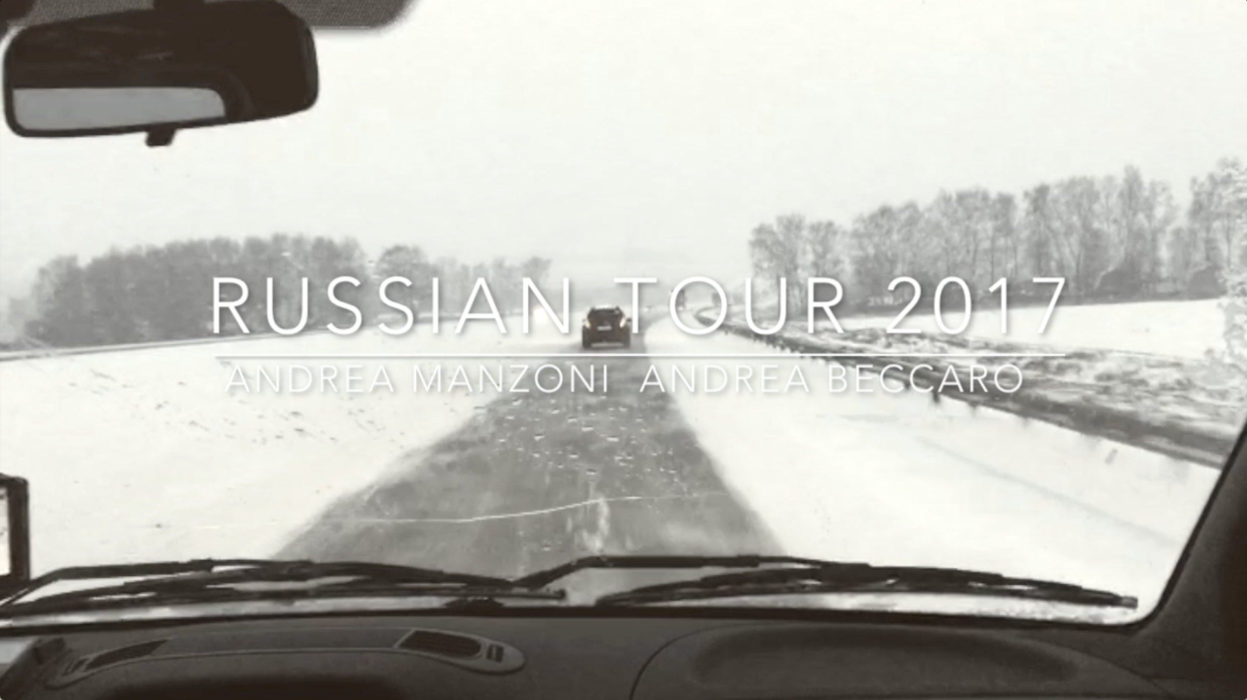 He Knows Everything - Russian Tour 2017