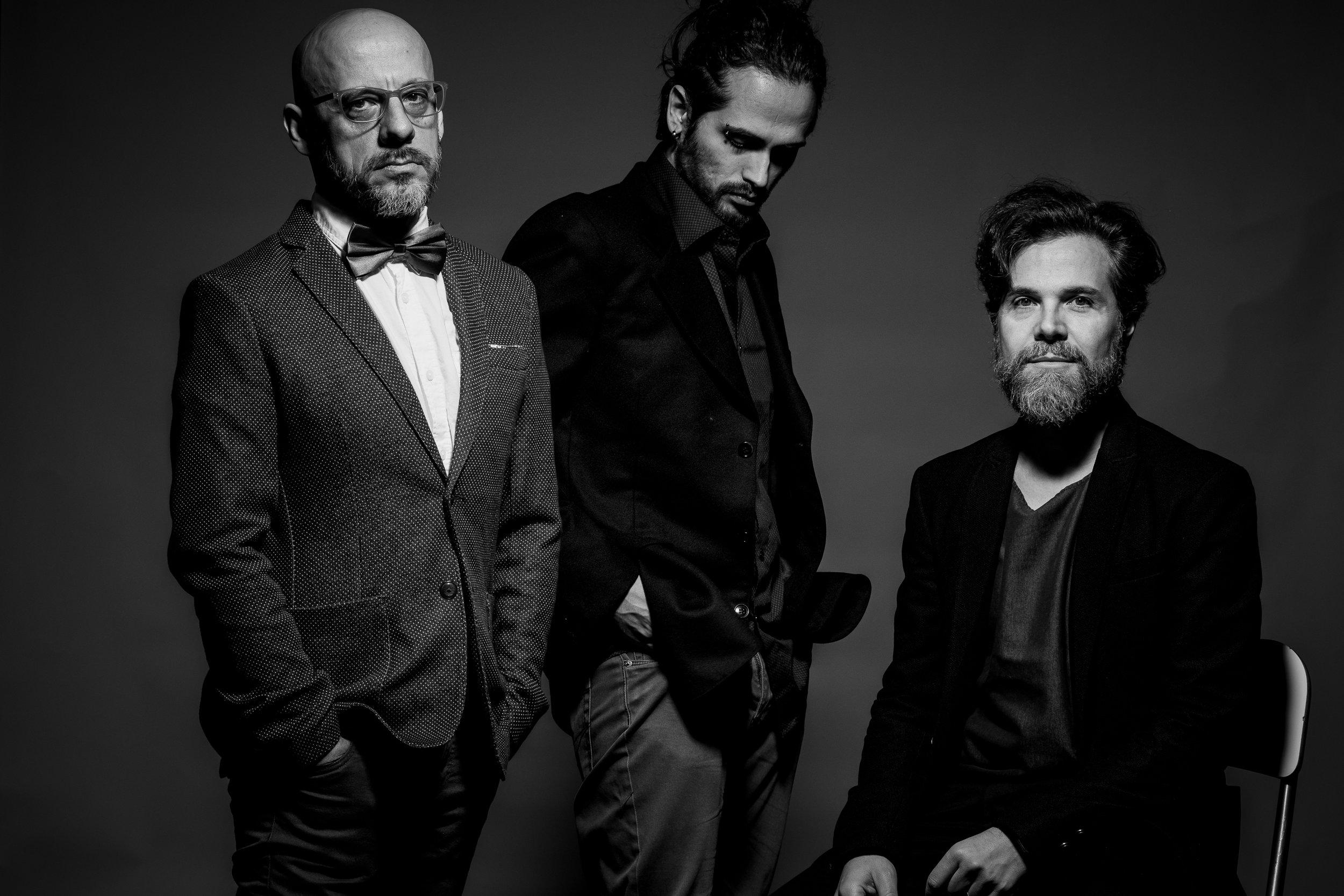 Andrea Manzoni Trio Live at RTVS in Bratislava   27.09.18