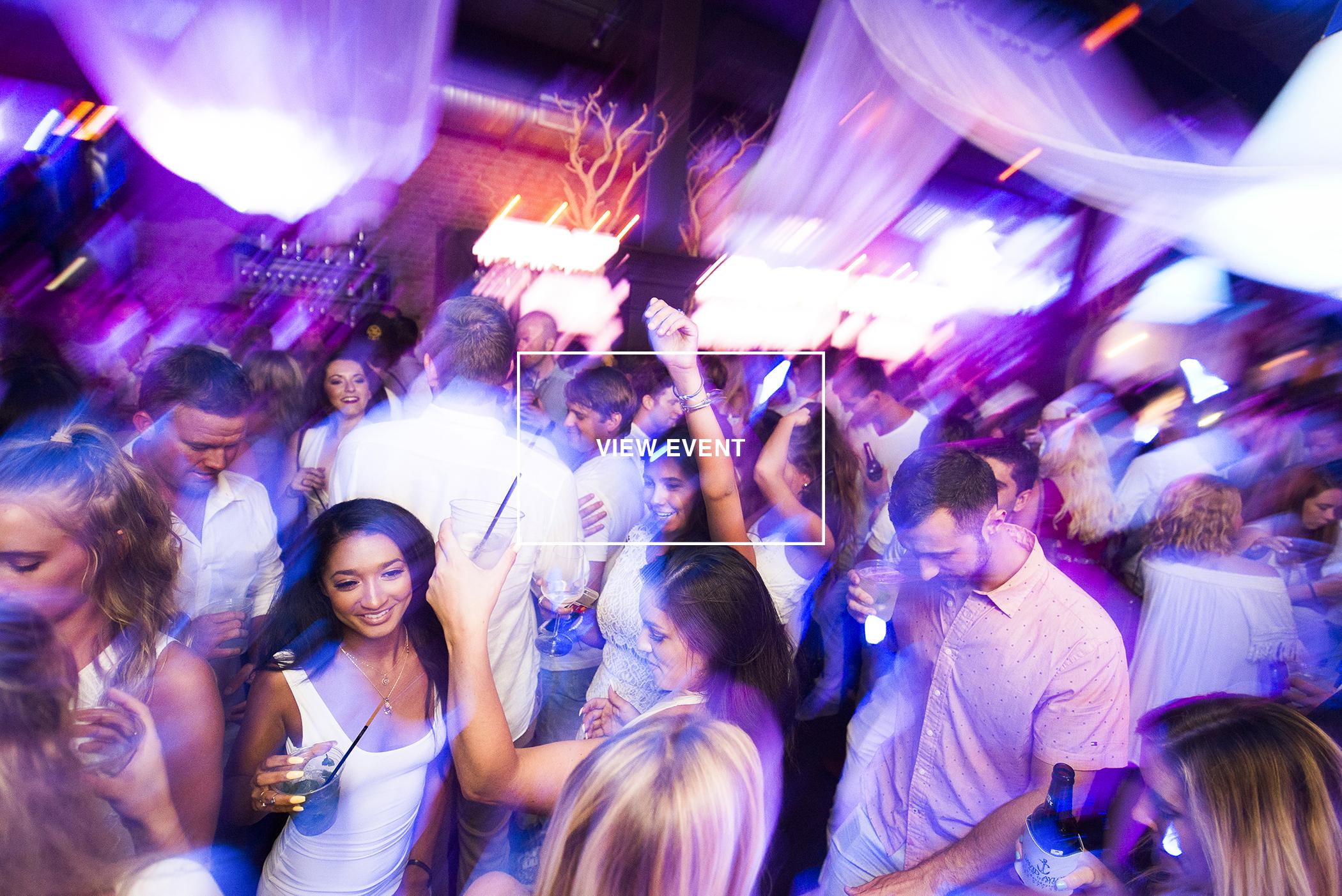 Charleston Event Photography of O-ku White Party