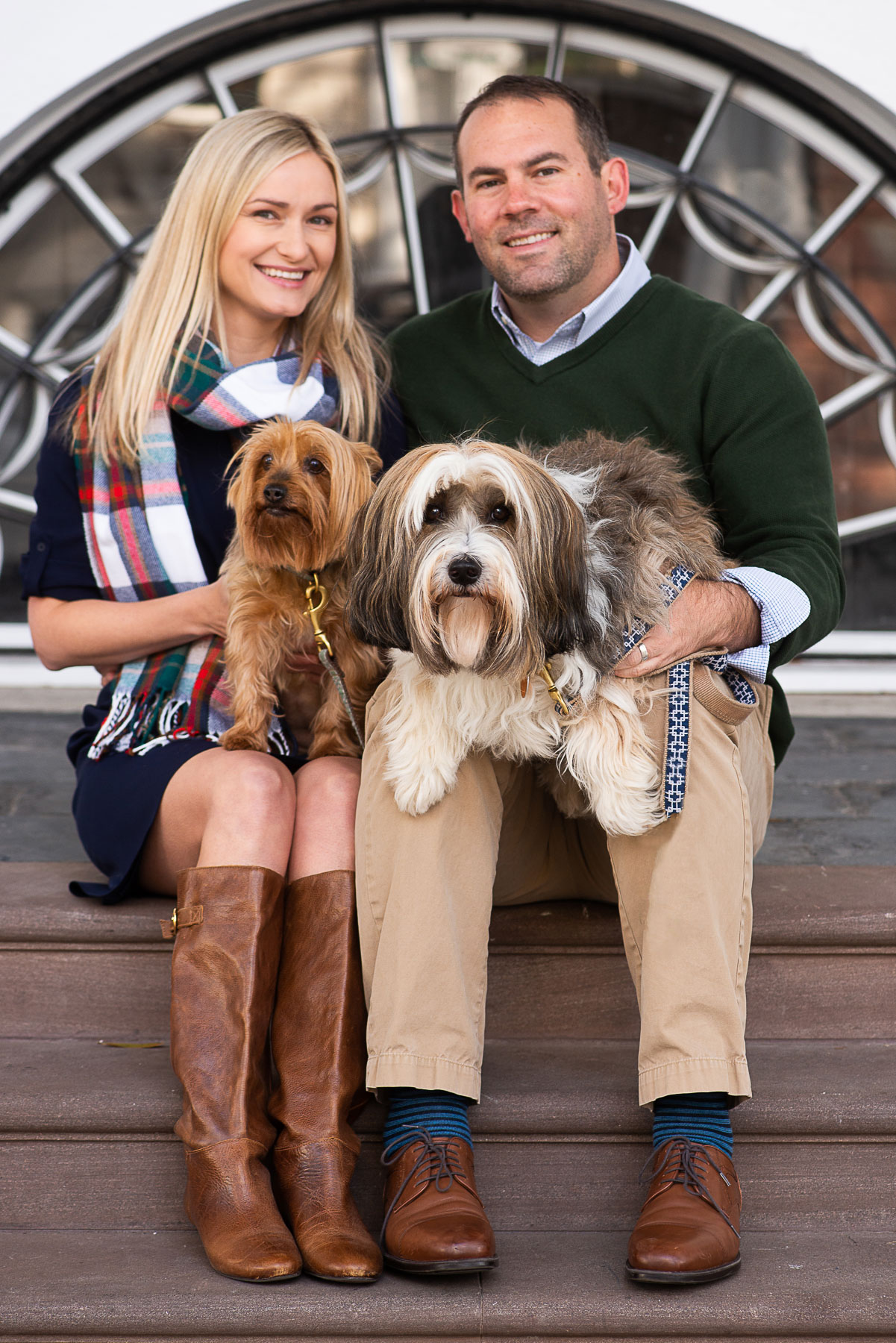 Charleston Christmas Card Photos