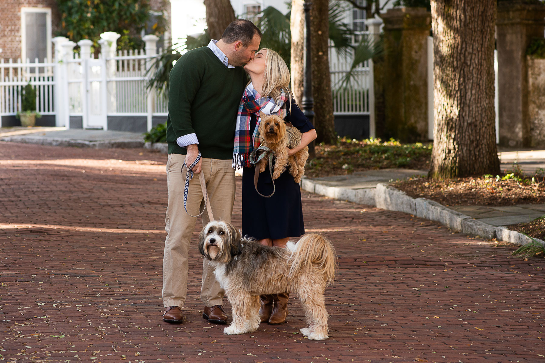 Charleston Christmas Card Photos by Reese Moore Photography