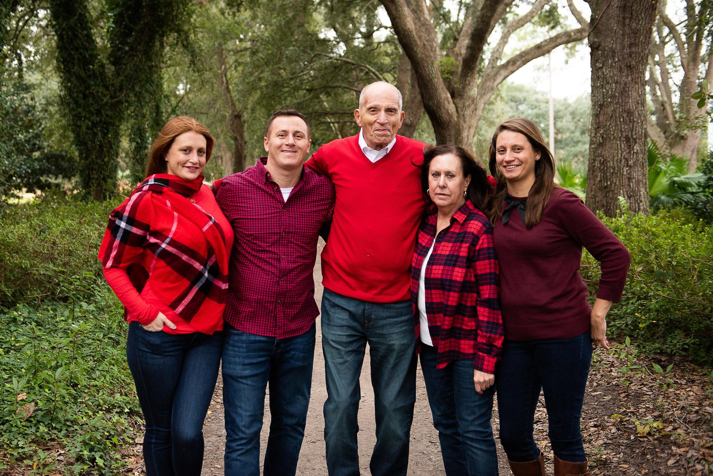 Charleston family portrait