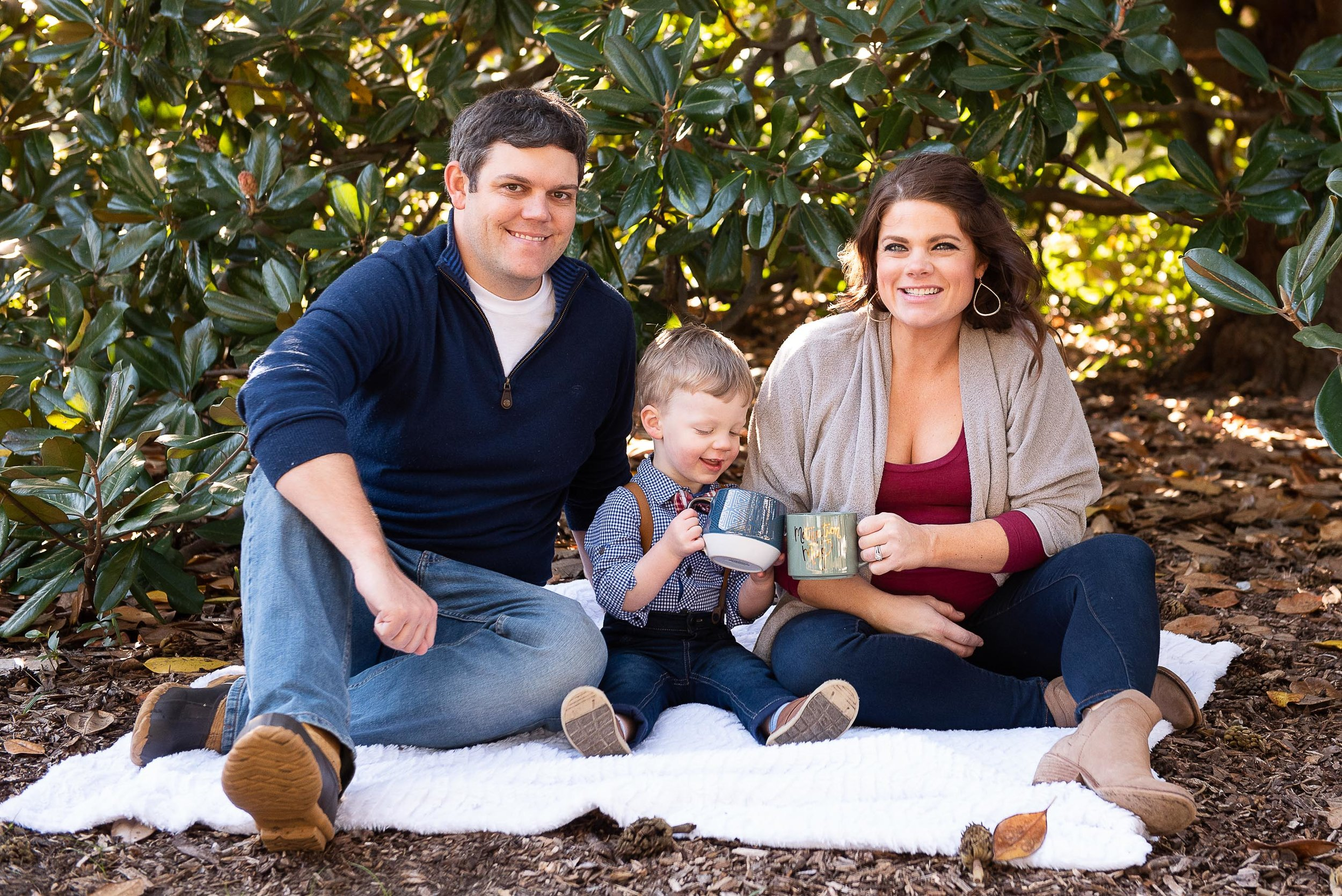 Hampton Park Family Portrait for Christmas Cards