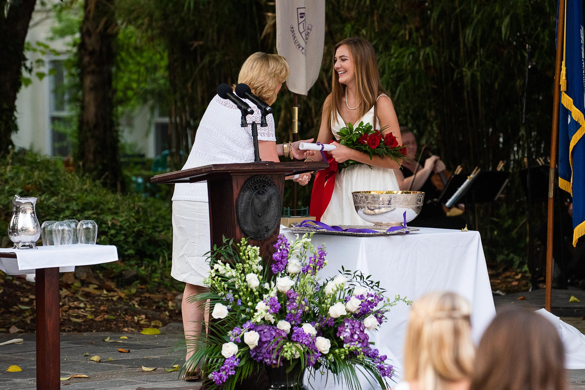 Graduation at Ashley Hall School