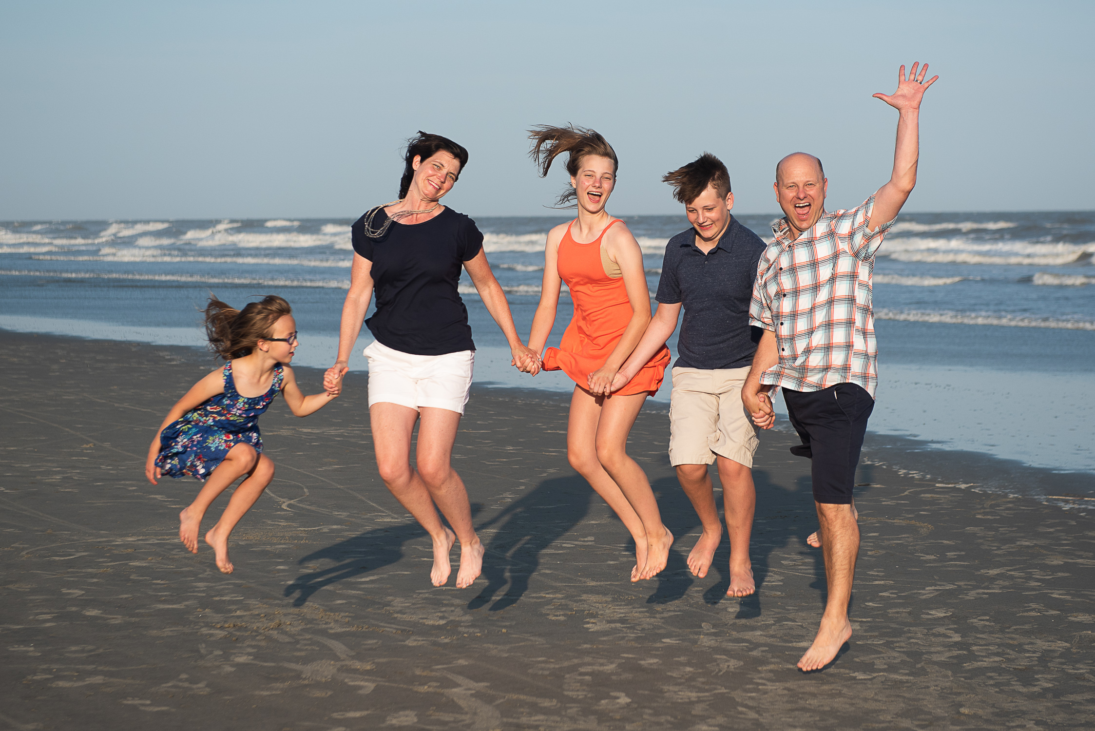 Kiawah Island Family Portrait by Reese Moore Photography