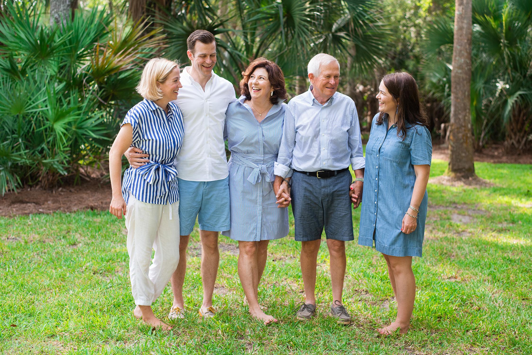 Family portrait Kiawah