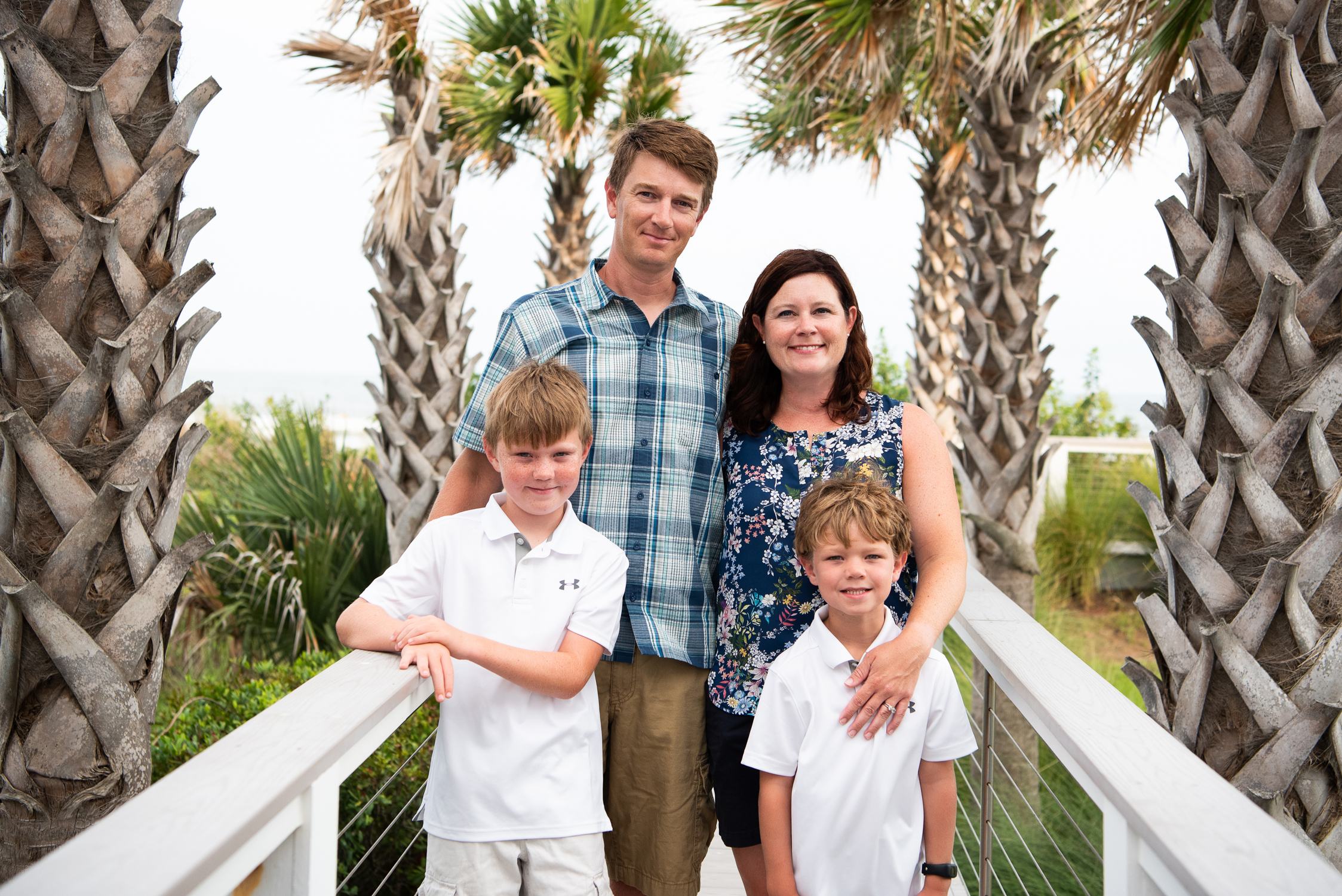 Folly Beach Family Session by Reese Moore Photography