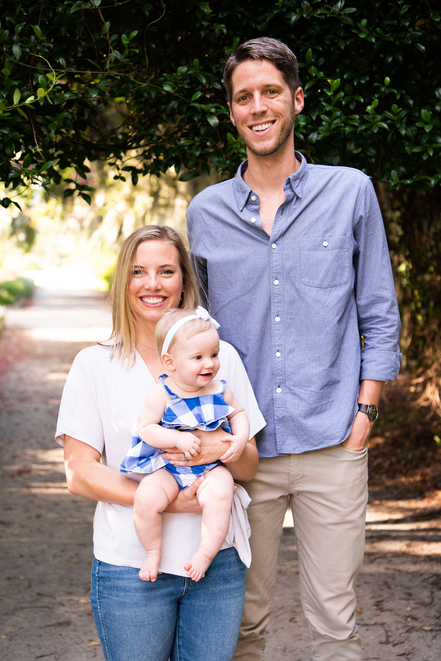 Charleston Family Portrait Hampton Park by Reese Moore Photography