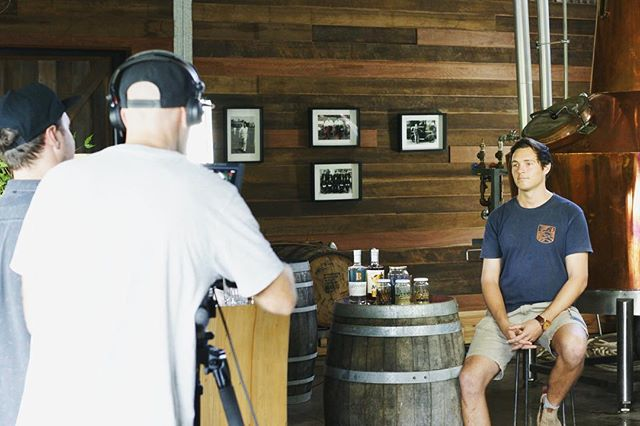 Up close and personal with the talented and super passionate @eddiebrook from @capebyrondistillery  What a privilege. We can't wait to share more of his story.  #videoproduction #video #videography #behindthescenes #design #campaigndesign #graphicdesign #creativeagency #branding #creative #agencylife #designers