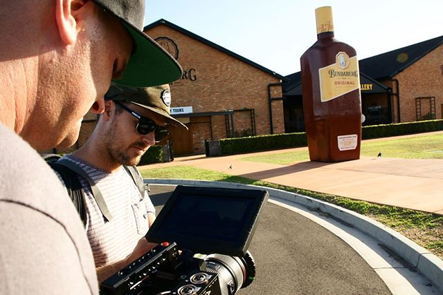 Nice little excursion with these legends to shoot Australia's most iconic spirit brand.  Great couple of days. 👌  #videoproduction #video #videography #behindthescenes #design #campaigndesign #graphicdesign #creativeagency #branding #creative #agencylife #designers