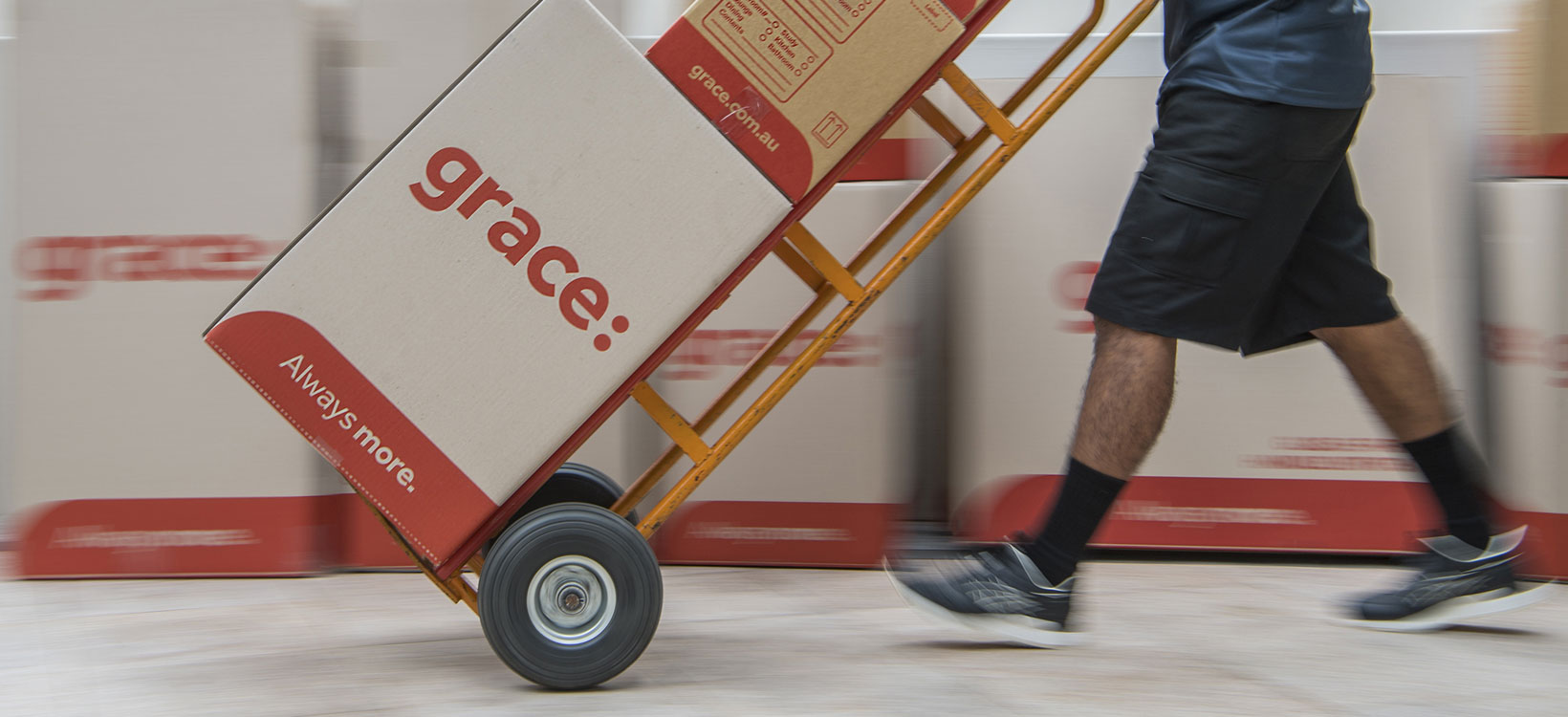 Grace - Always More Rebrand