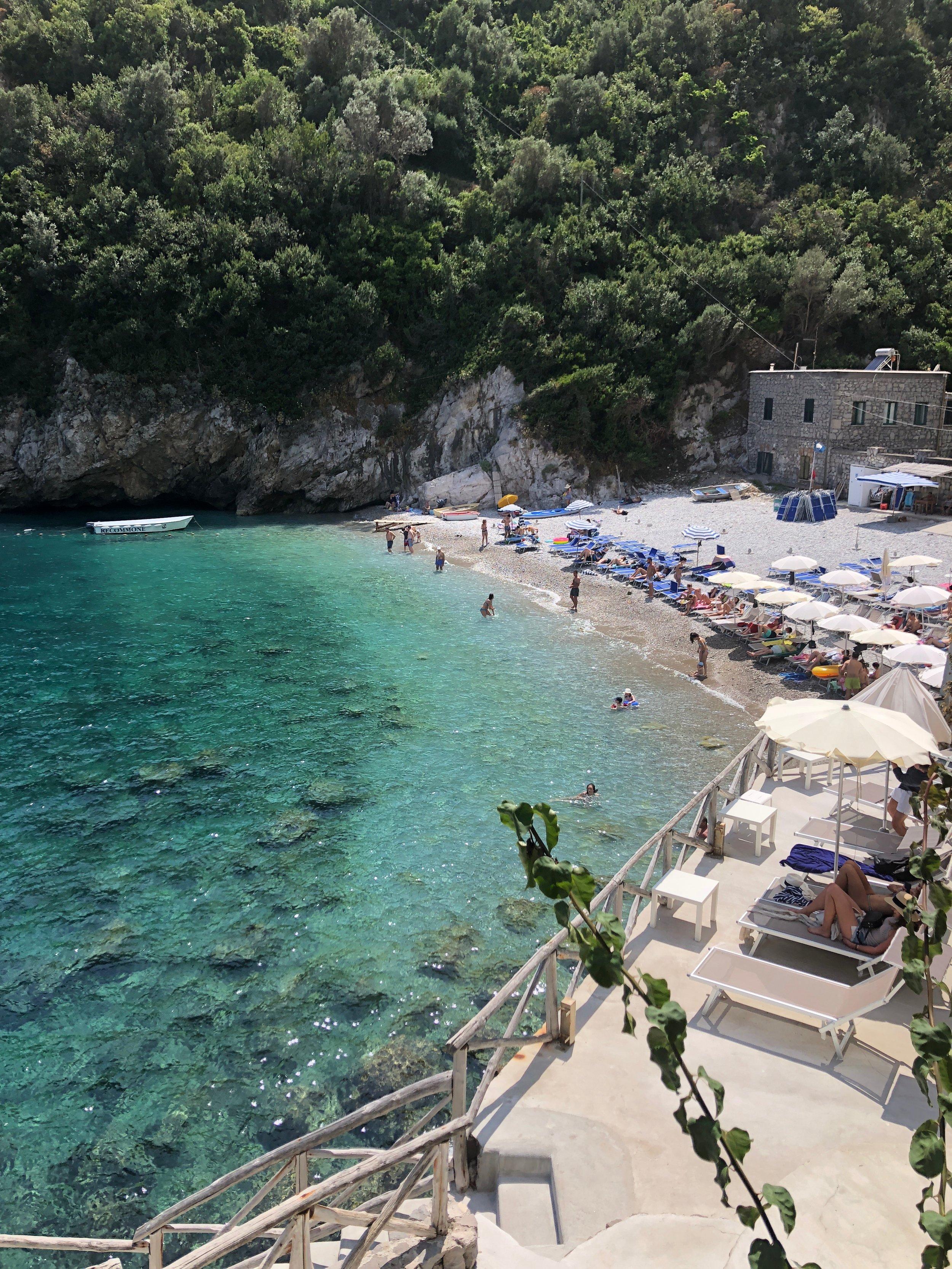 La Conca del Sogno Beach club, Amalfi Coast, Italy