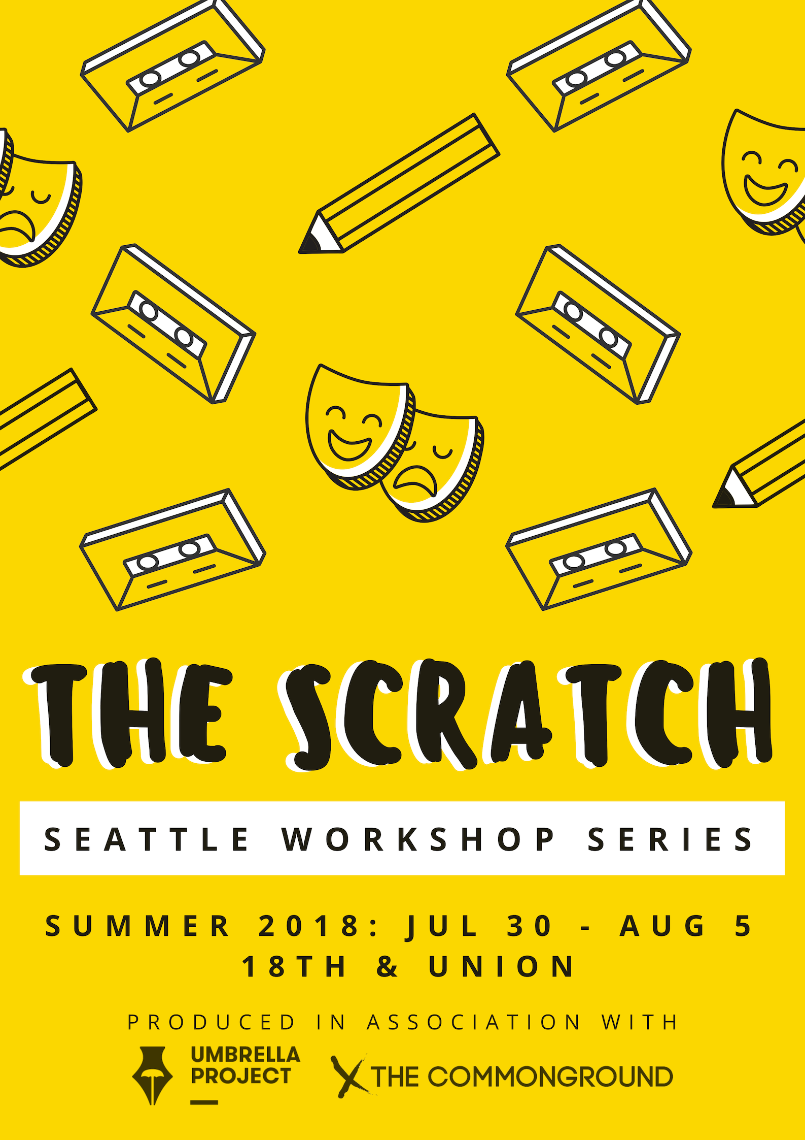 2018 - 1. Lead Graphic Redesign - The Scratch - Seattle Workshop Series- Summer 2018.png