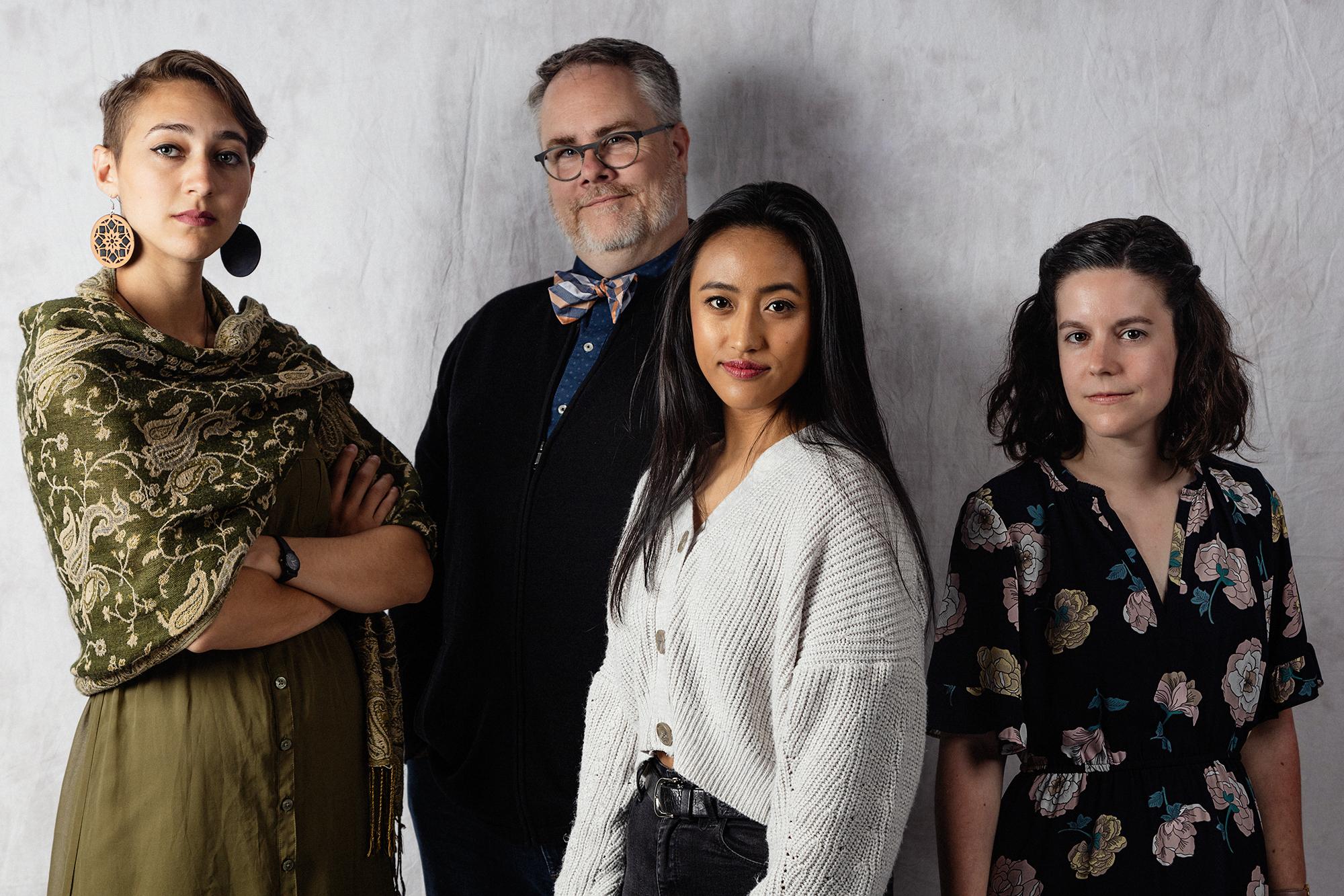 Nabra Nelson, Tom Smith, Rheanna Atendido & Danielle Mohlman | Not Pictured: Mona Sherif-Nelson & Courtney Meaker |  Photo by Brett Love