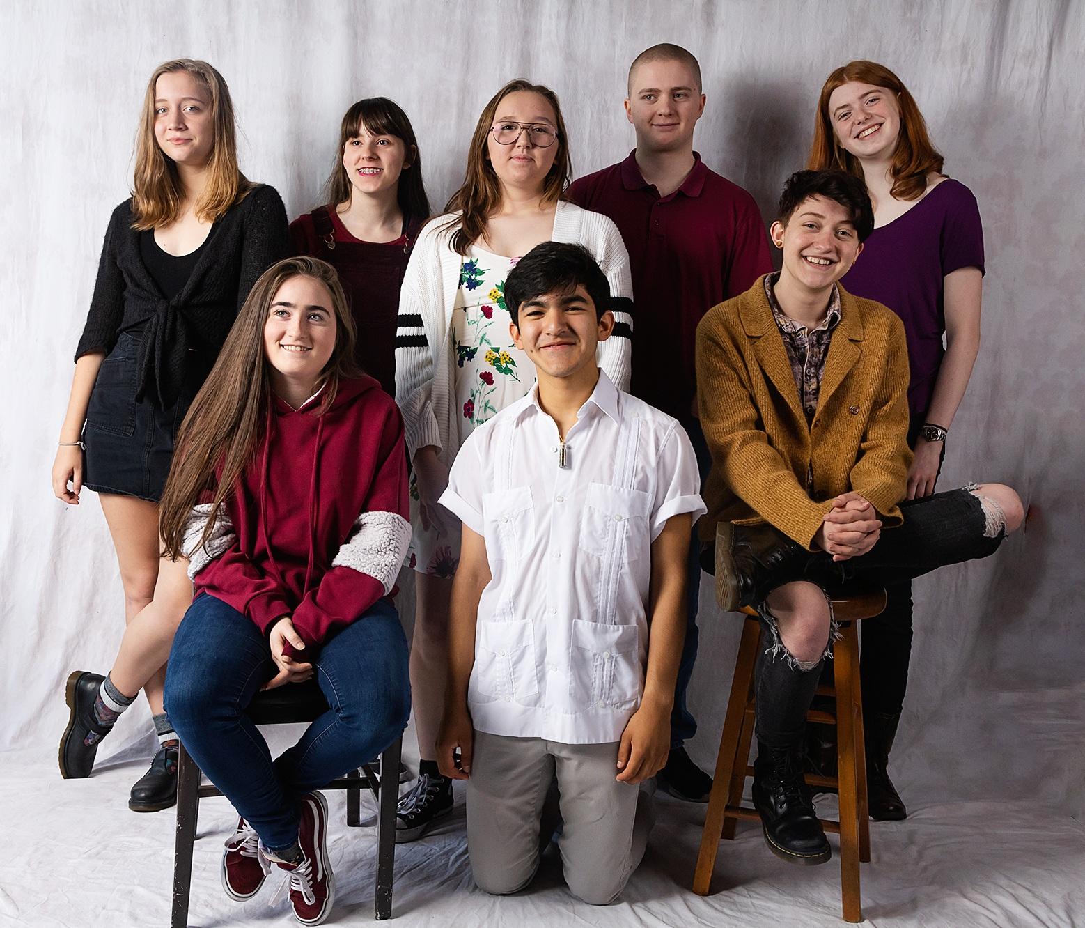 Aliza, Aresa, Asher, Diego, Ellric, Lydia, Regan & Stephanie |  Photo by Brett Love
