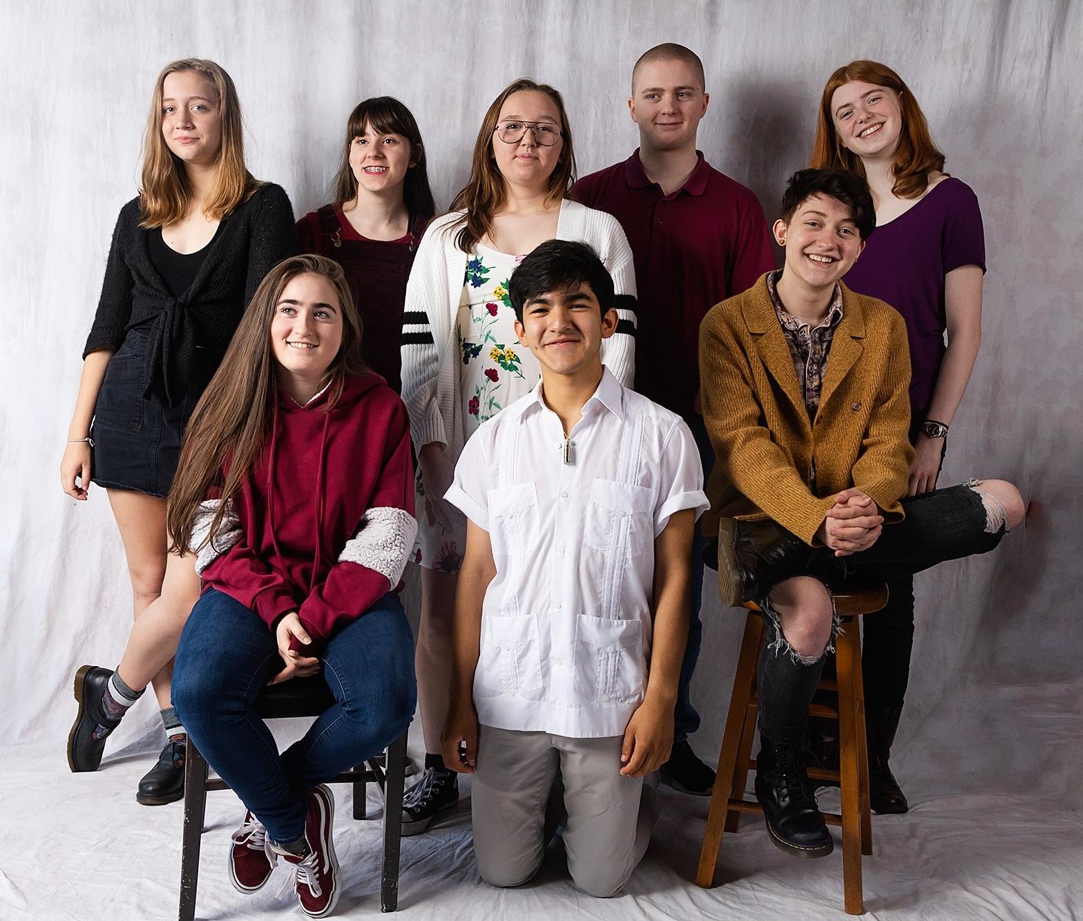 Aliza, Aresa, Asher, Diego, Ellric, Lydia, Regan & Stephanie    Photo by Brett Love