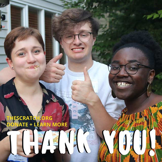 Thank you to everyone who has supported us! We've still fundraising and we've made huge strides thanks to you. Shout out to these folks who donated between August 13-August 20: $25-249 Donors | Andrea Kovich, Andrew Swan, Eron Huenefeld, Johnny Lau, Justin Huertas, Mandy Rose Nichols, Scottland Glenn, Tony Gavilanes & Anonymous (3) $250+ The Team | Alyssa Hochman & Lincoln Uyeda $1,000+ Series Partners | Pacific Lutheran University Benson-Starkovich Faculty Development Grant & Anonymous - Congratulations to Nick and Jasmine and Eddie  Donate + Learn More | bit.ly/TheScratchFundraiser2019