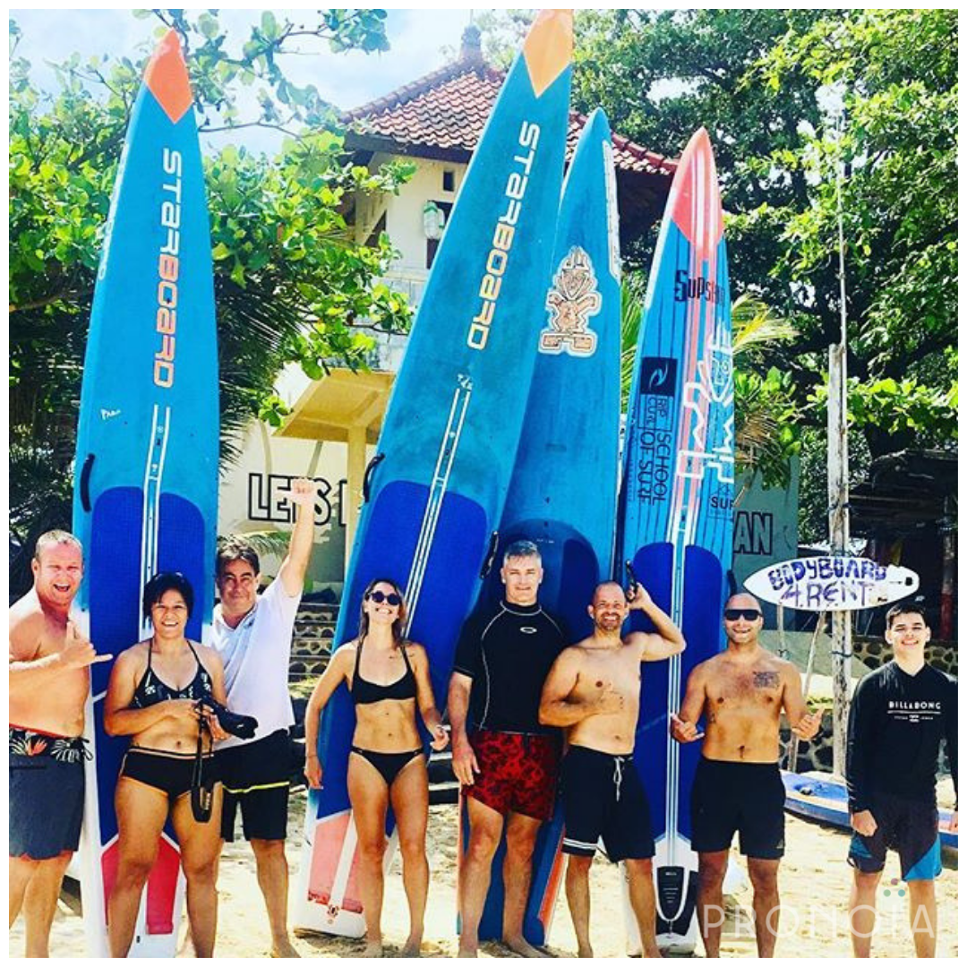PADDLE BOARDING/ SURF - Surf's up! RipCurl professionals will teach you the proper techniques to get you up on your board and surfing Bali's waves in no time.For advance surfer, ask us about our new Foiling training!SEE SCHEDULE