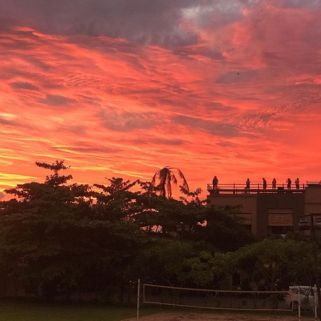 No filter sunset from Pronoia Community! Couldn't wish more ❤️ #sunset #bali #pronoiacommunity #baliretreat #fitness #nutrition #wellness #work #play #nourish