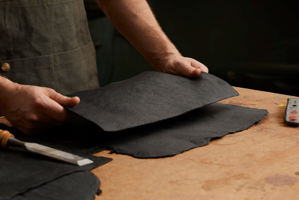 Environmentally Sustainable, Innovative Leather Made from Mushrooms -