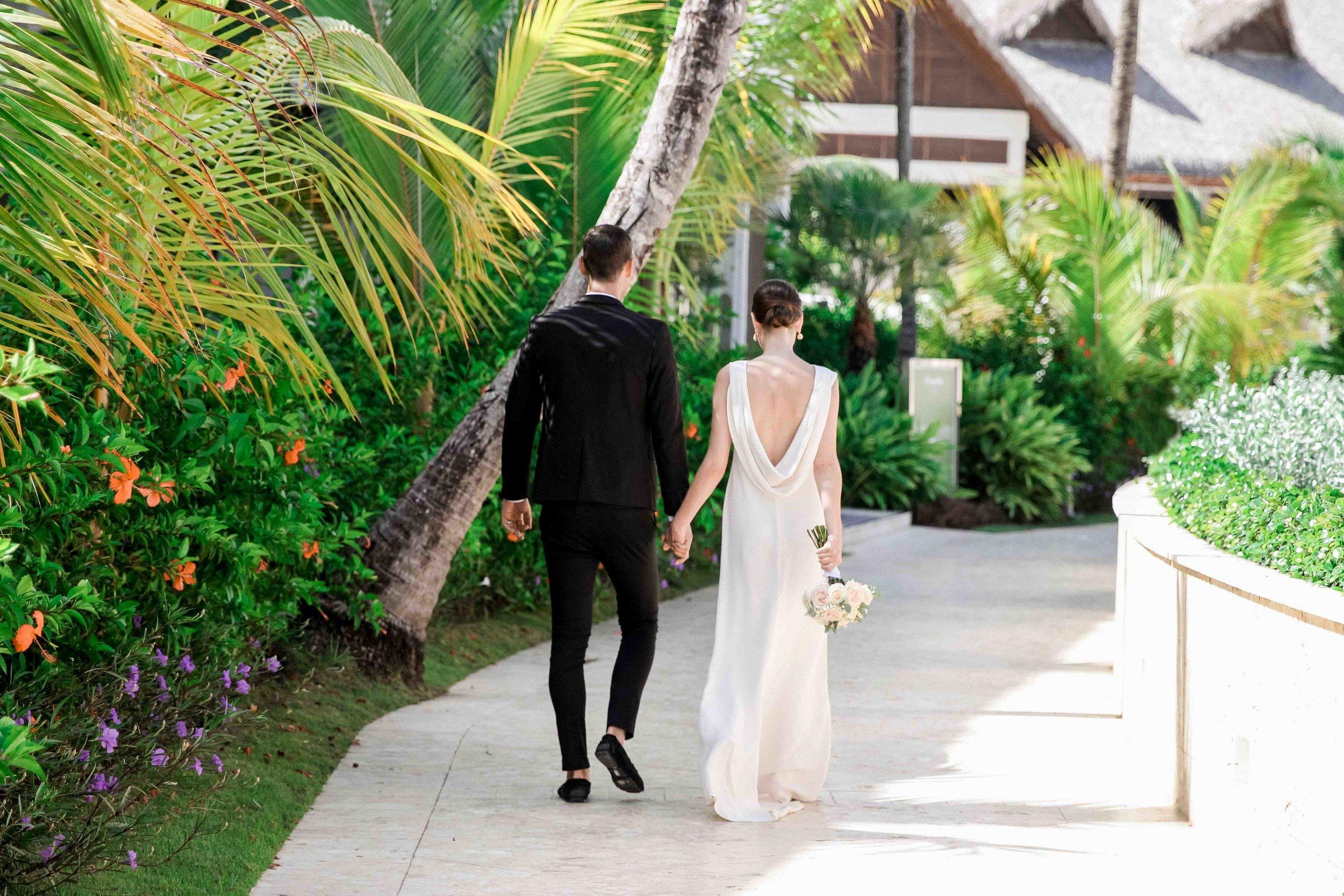Kristen & Adam in Royalton Resort Punta Cana