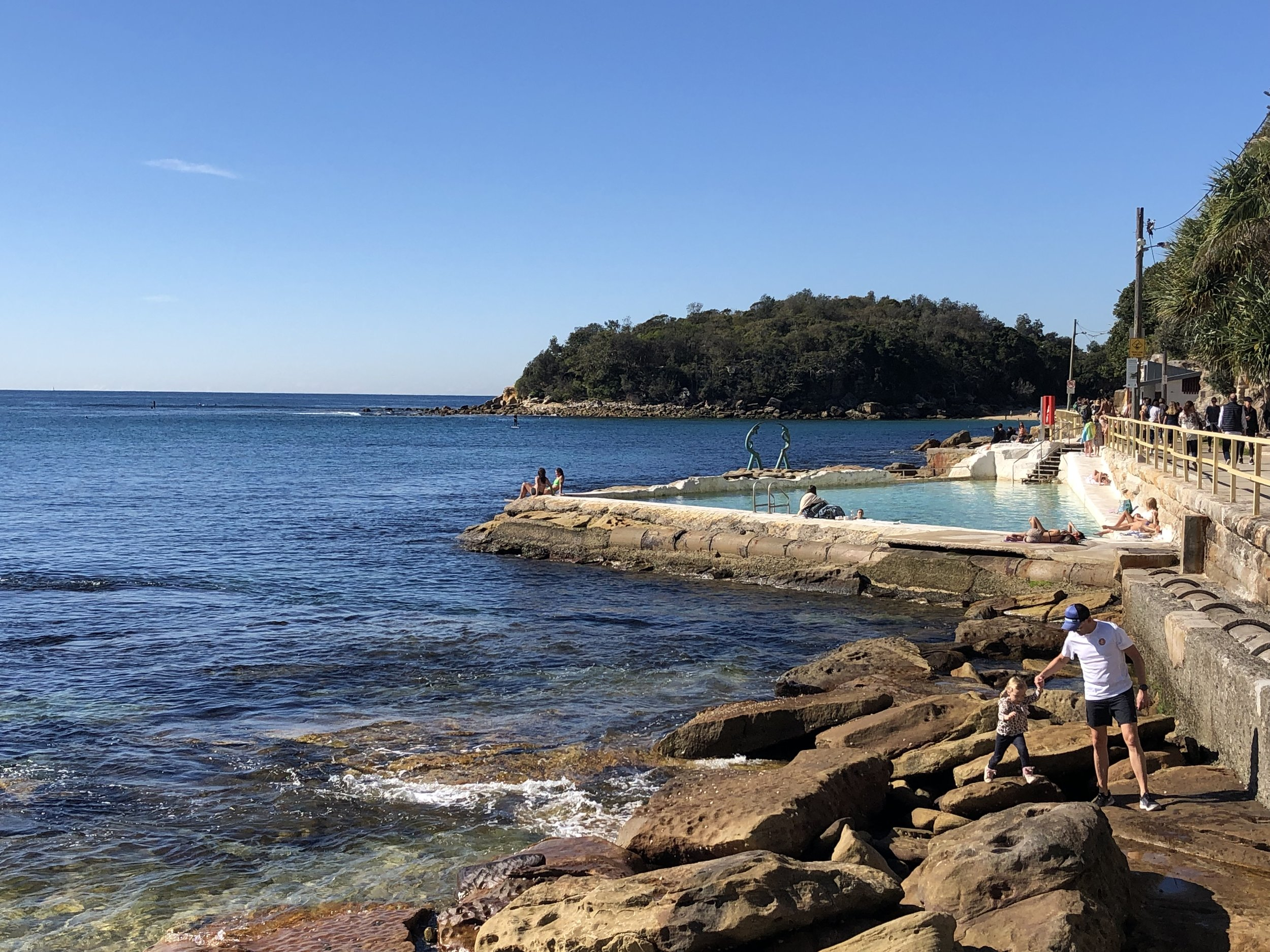 The walk from Manly Beach to Shelly Beach - Fairy Bower Pool