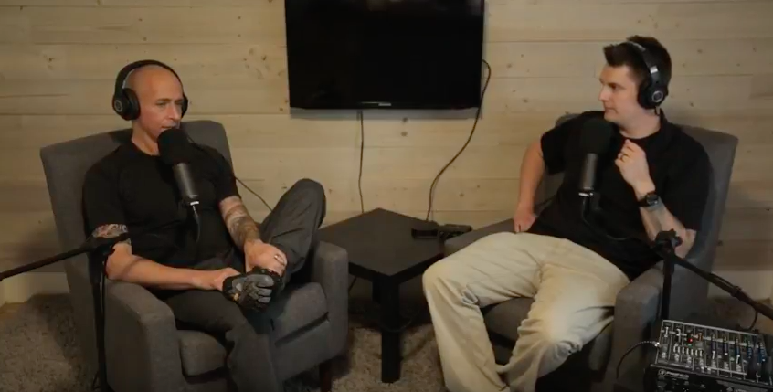 - Nolan and Dan chat in the studio about why they are making this film.