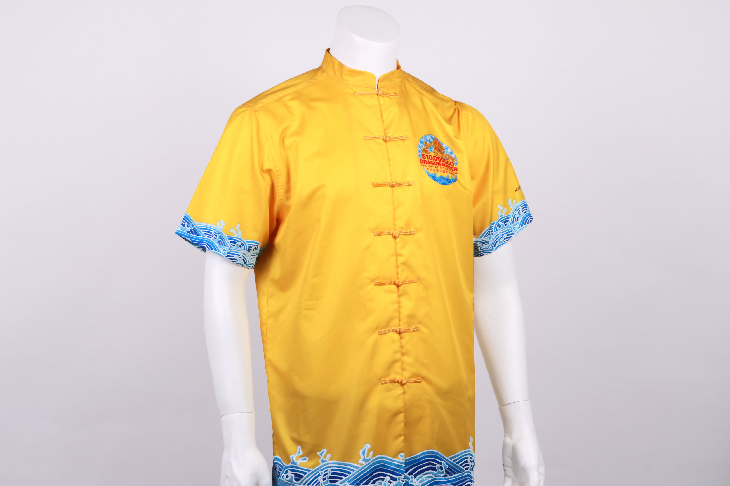 Traditional oriental detailed uniform