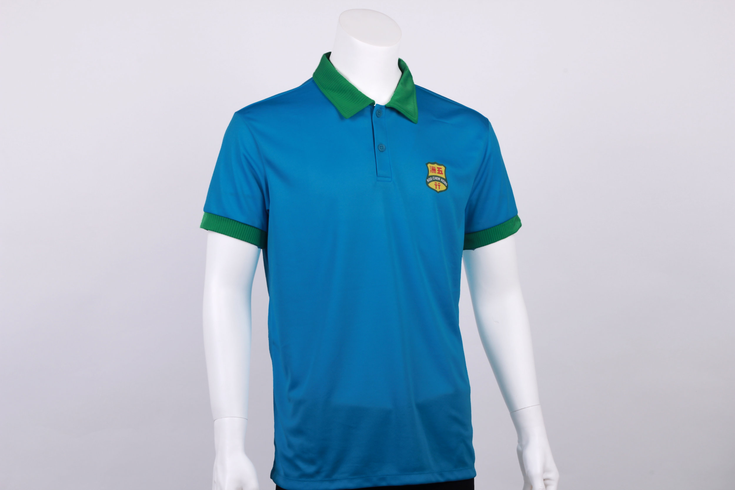 Standard Polo Tee w/double layered collar