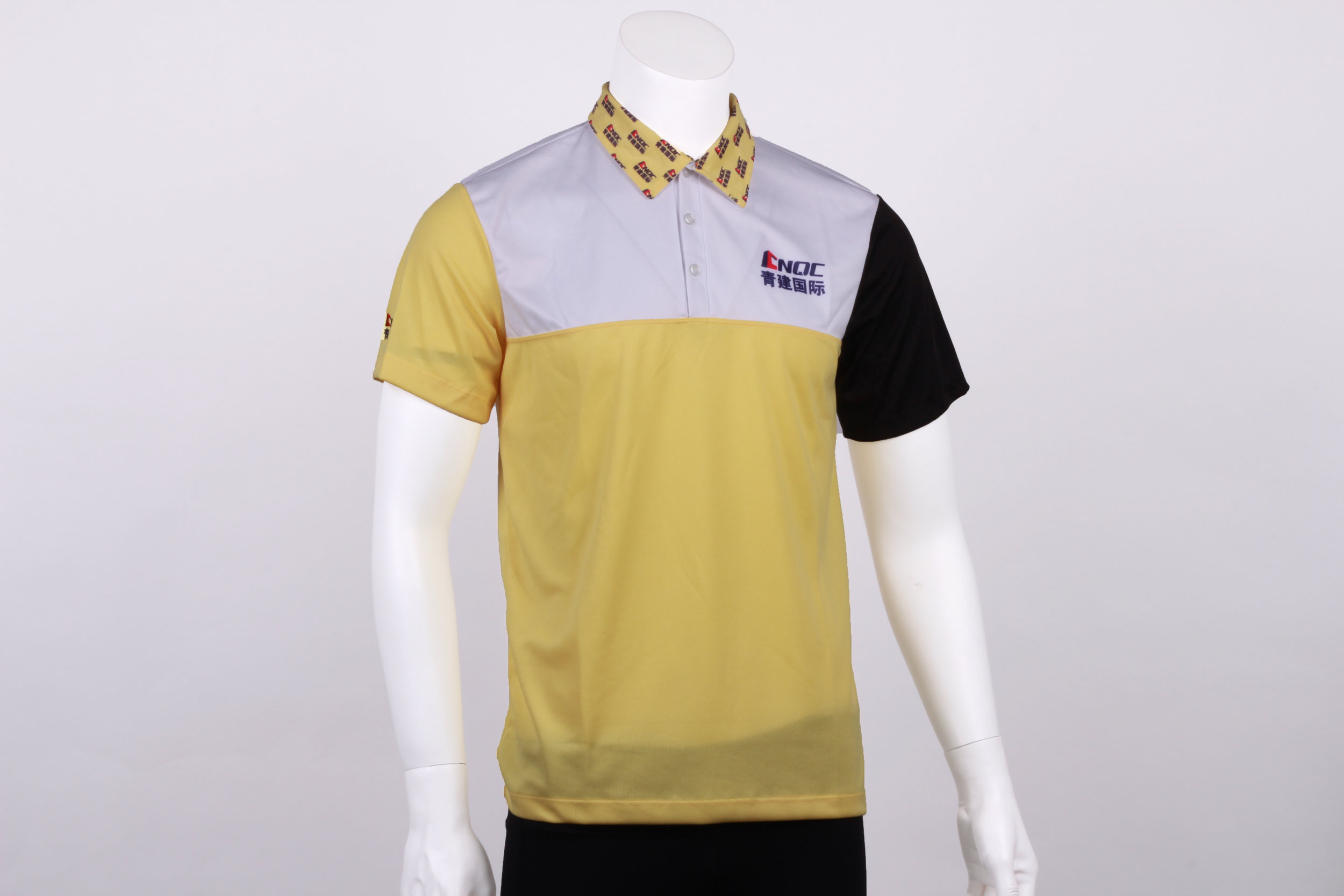 Fancy Polo Tee with sublimation printing