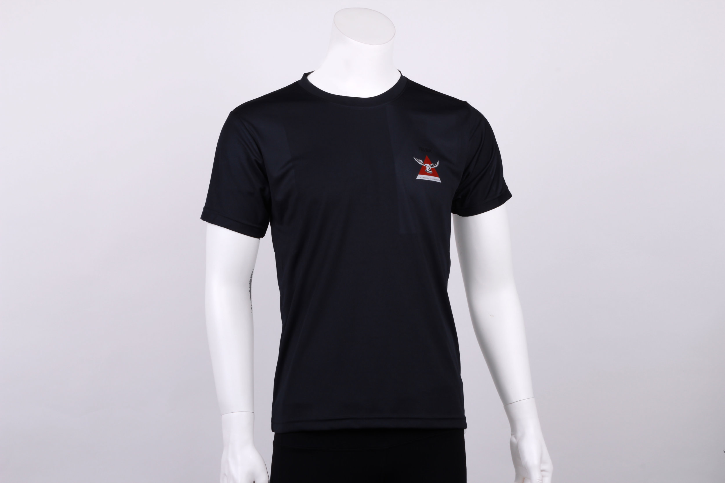 Standard Round neck with heat transfer logo