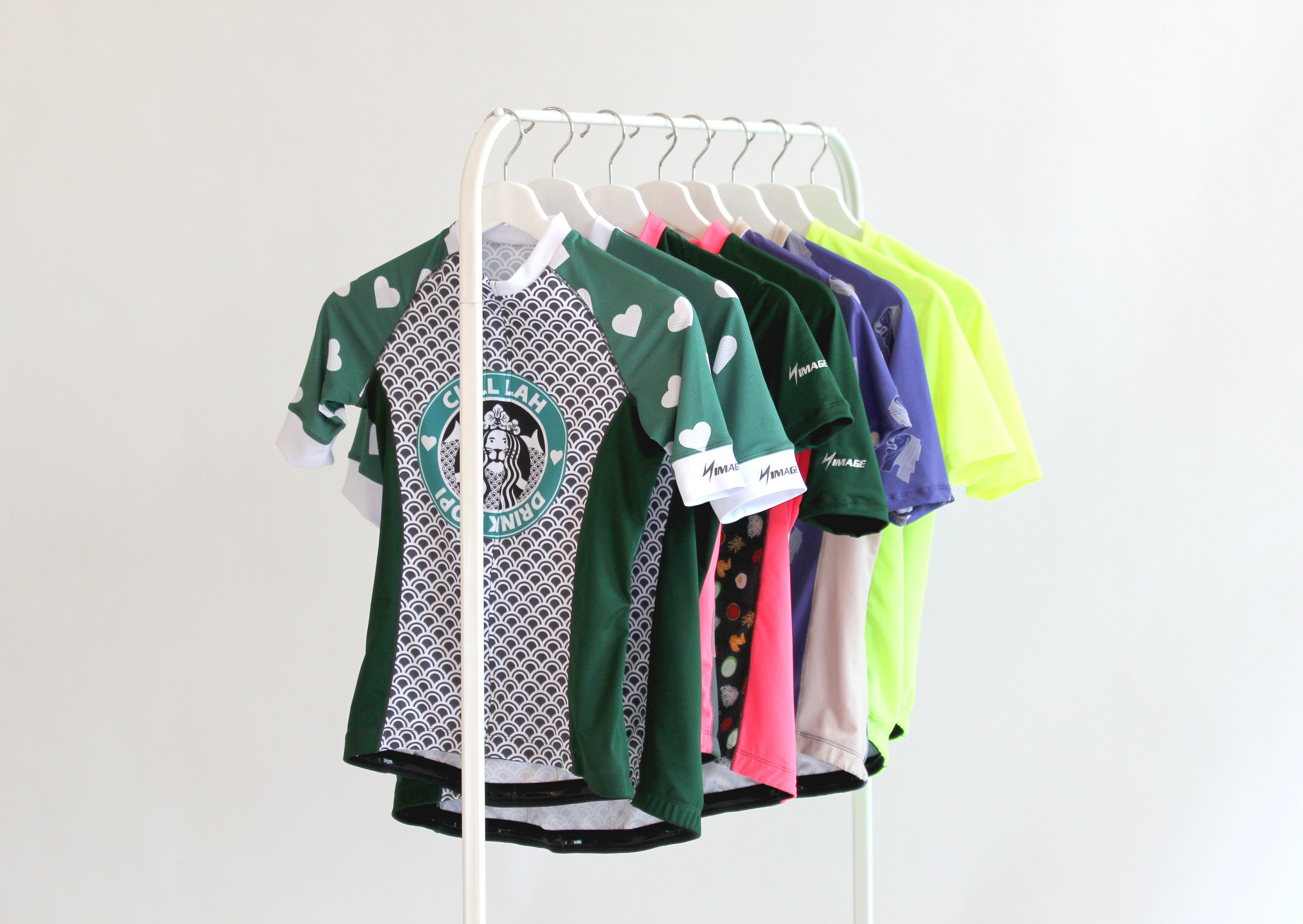 Shop #365 - Cycling jerseys from our 2018 collection.