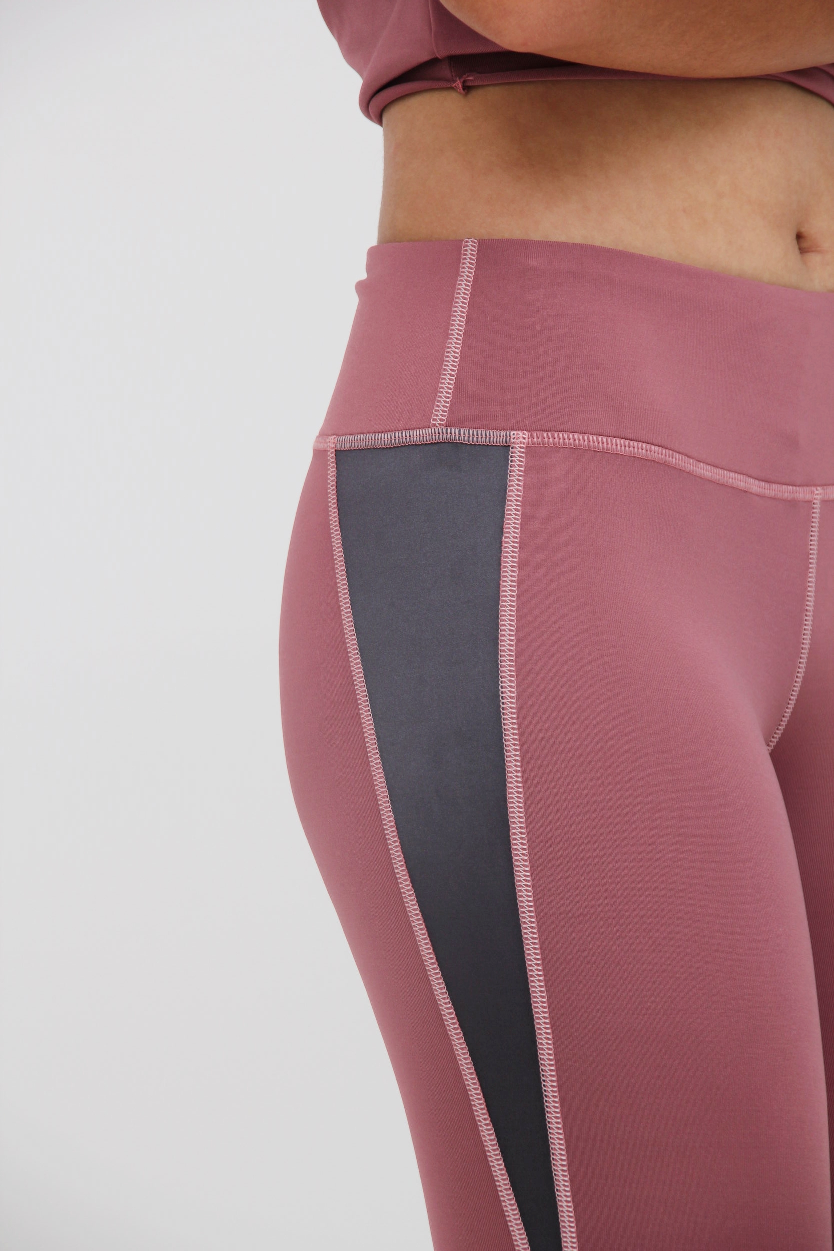 FLAT SEAMS - To minimize chafing (abrasion on skin) and no bulky edges sinking into skin.