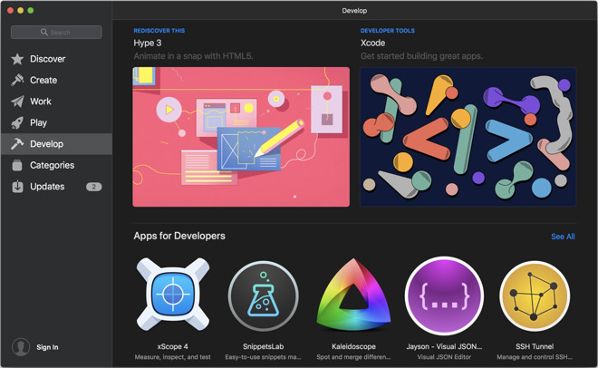 The new Mac App Store in macOS Mojave incorporates lessons learned on iOS